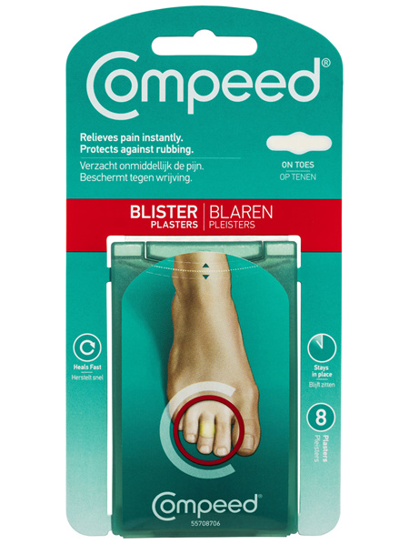 Compeed Blister Plasters 8 Pack