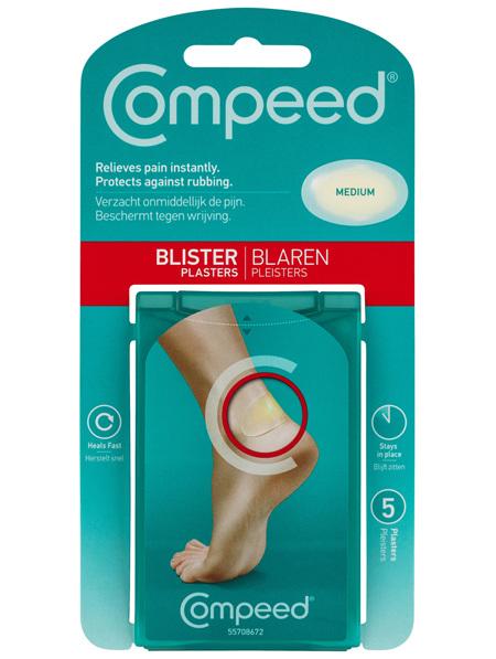 Compeed Blister Plasters Medium 5Pk