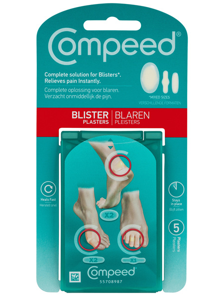 Compeed Blister Plasters Mixed 5Pk