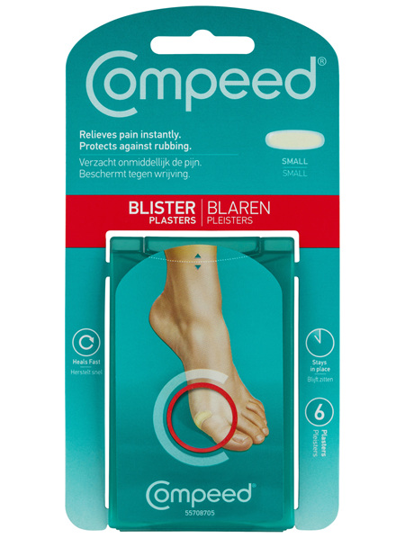 Compeed Blister Plasters Small Small 6Pk