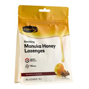 COMV Manuka Honey Lozenges Aniseed 40