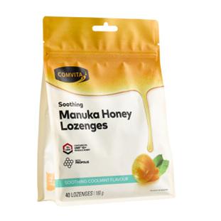 COMV Manuka Honey Lozenges Coolmint 40
