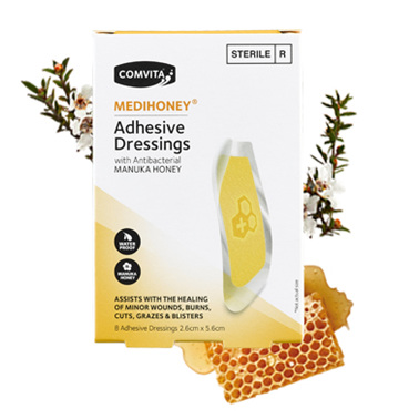 COMV Medihoney Adhes. Dressing Sm 8