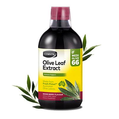 COMV Olive Leaf Ext Mxd Berry 500ml