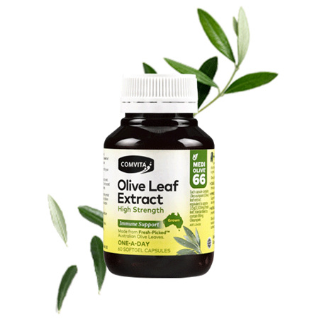 COMV Olive Leaf Extract High Str 60