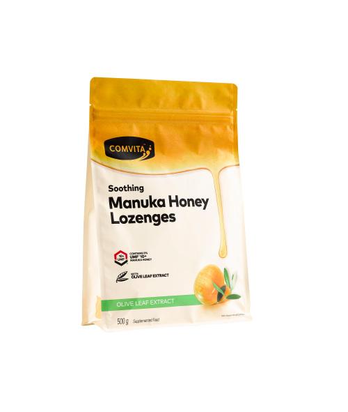 COMVITA Manuka Honey Lozenges Olive Leaf 500g