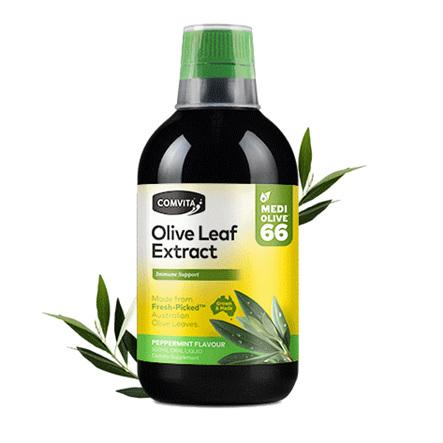 COMVITA Olive Leaf Complex Peppermint 500ml