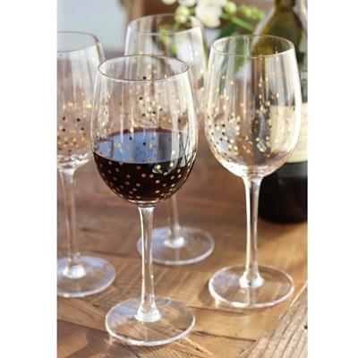 Confetti Wine Goblet - S/4
