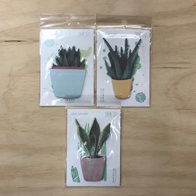 Contempory Cacti Notepad