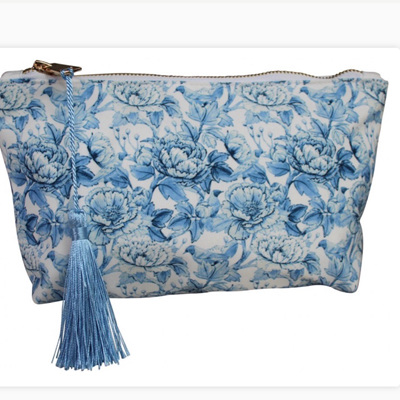 Cosmetic Bag Oriental Blue