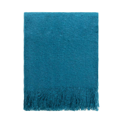 Cosy Throw - Moroccan Blue