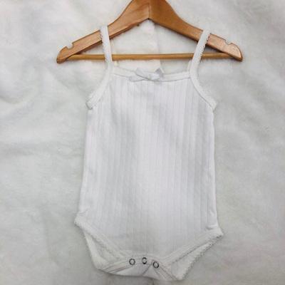 Cotton Bodysuit White