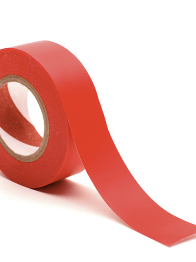 Court Tape, red, for court marking.