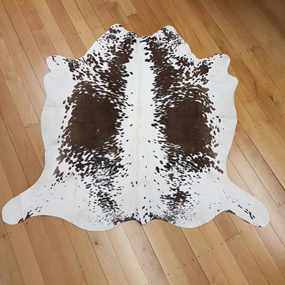 Cowhide - White/Brown Speckle