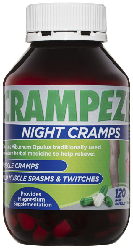 Crampeze Night Cramps 120 Capsules