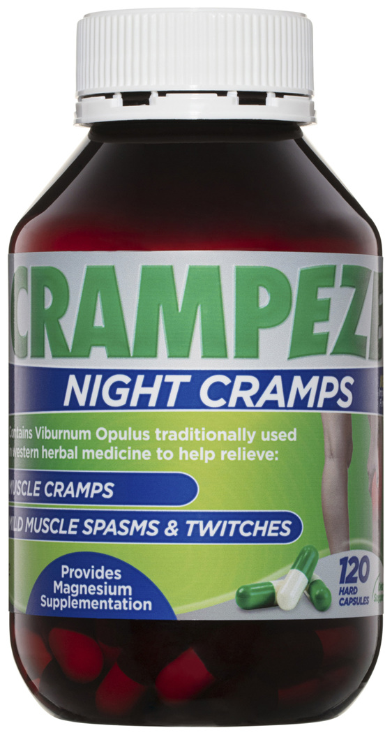 Crampeze Night Cramps 120 Capsules