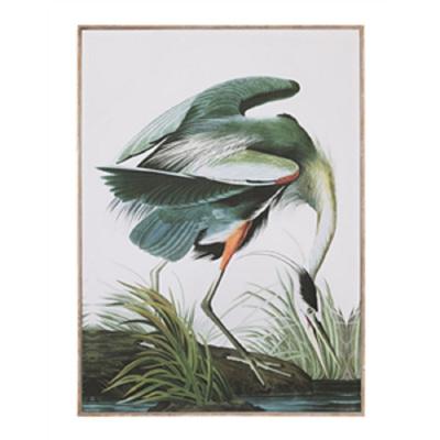 Crane Print - Framed