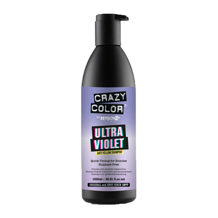Crazy Color Ultra Violet Anti Yellow Shampoo 1000ml