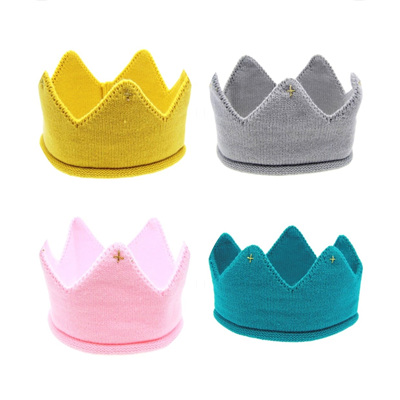 Crochet Baby Crown