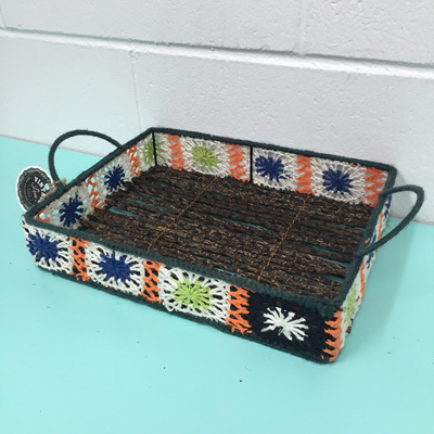 Crochet Rectangle Tray (D) WAS $39.90