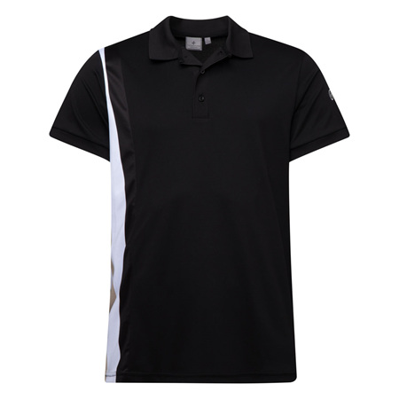 Cross Tilt Polo - Black