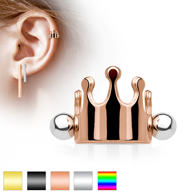 Crown Ear Cartilage/Helix Cuff