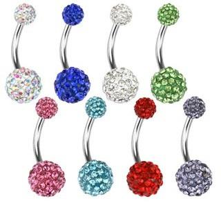 Crystal Ferido Navel Ring