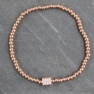Cube Bracelet - Rose Gold