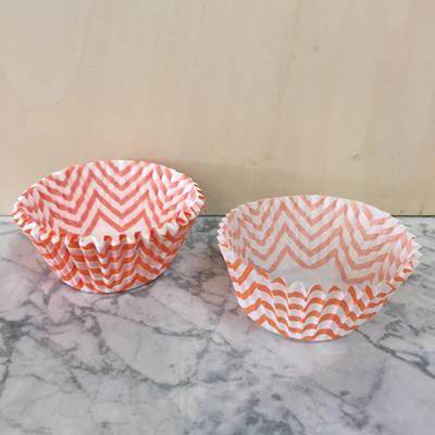 Cupcake Case 25pk Tangerine WAS $5.90