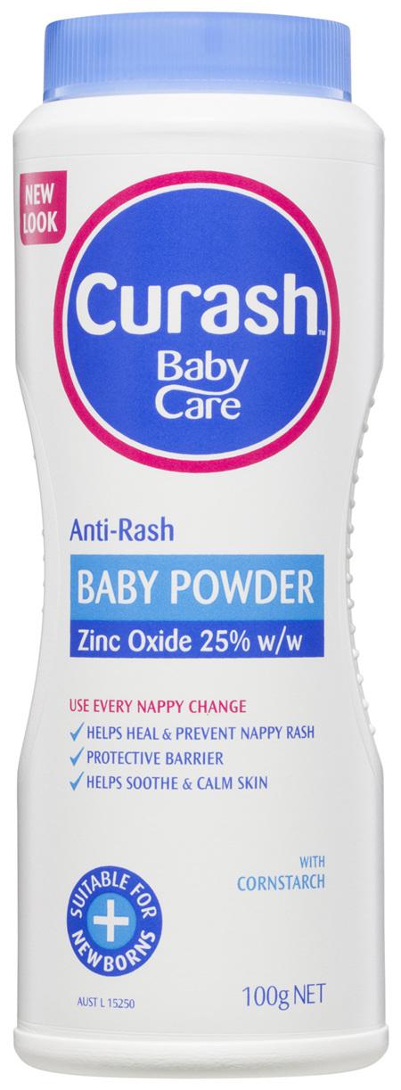 Curash Babycare Anti-Rash Baby Powder 100g