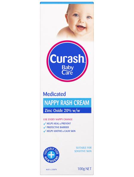 Curash Babycare Medicated Nappy Rash Cream 100g