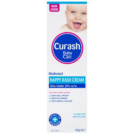Curash Babycare Medicated Nappy Rash Cream 100g