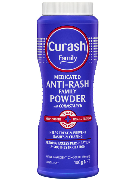 Curash Family Powder Medicated Anti-Rash 100g