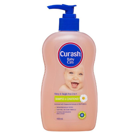 CURASH Shampoo & Conditioner 400ml