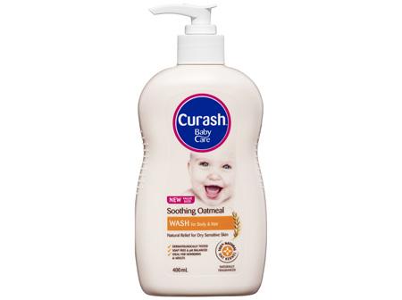Curash Soothing Oatmeal Wash 400mL