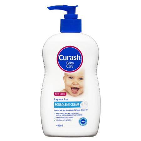 CURASH Sorbolene Cream 400ml: