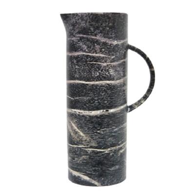 Cylinder Water Jug - Black Wood