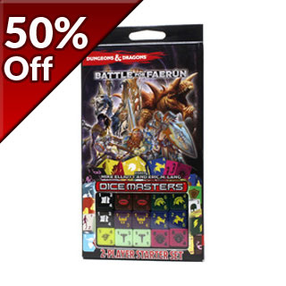 D&D Dice Masters - Battle for Faerun Two Player Starter Set