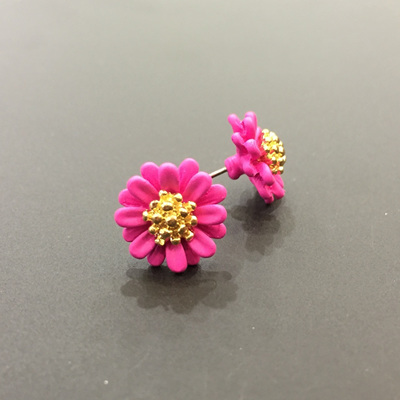 Daisy Chain Studs - Pink