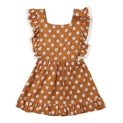 Daisy Frill Back Dress
