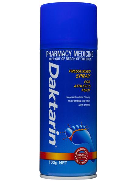 Daktarin Pressurised Spray 100g