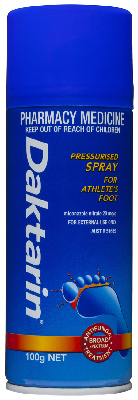 Daktarin Pressurised Spray 100g