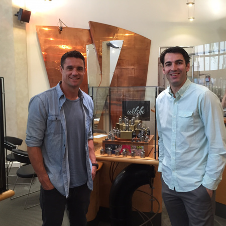 Dan Carter Visits The Wilshi Team