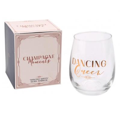 Dancing Queen Glass Tumbler