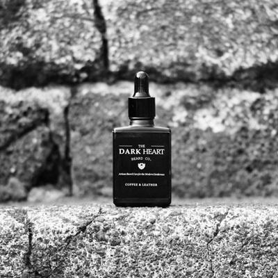 Dark Heart Beard Oil - Coffee and Leather