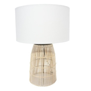 Darling Table Lamp - Natural Cane 66cmh