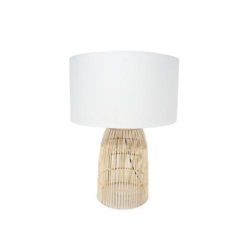 Darling Table Lamp - Natural Cane 74.5cmh