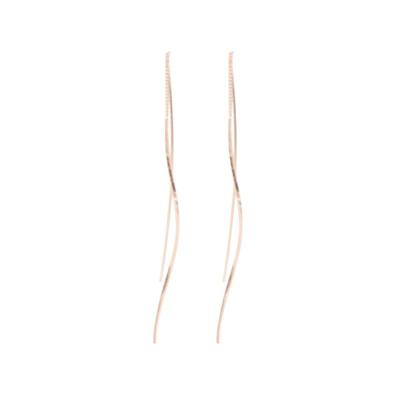 Davis Earrings - Rhodium