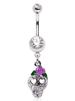 Day of the Dead Navel Bar