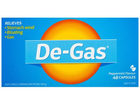 De-Gas 48 Capsules